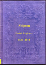 Shropshire Parish Registers: Shipton 1538-1812
