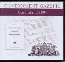 Queensland Government Gazette 1894