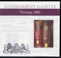 Victorian Government Gazette 1885