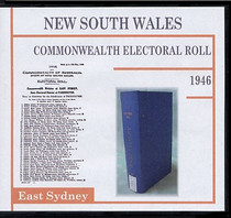 New South Wales Commonwealth Electoral Roll 1946 East Sydney