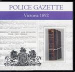 Victoria Police Gazette 1892
