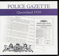 Queensland Police Gazette 1910