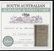 South Australian Almanac and Directory 1854 (Allen)