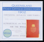 Queensland Post Office Directory 1902 (Wise)
