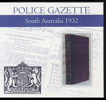 South Australian Police Gazette 1932