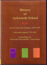 History of Ackworth School, Yorkshire During its First Hundred Years
