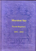 Shropshire Parish Registers: Moreton Say 1691-1812