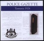 Tasmania Police Gazette 1924