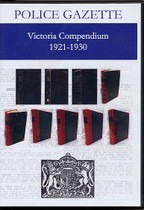 Victoria Police Gazette Compendium 1921-1930