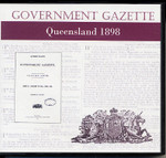 Queensland Government Gazette 1898