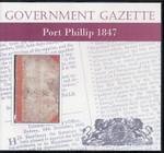 Port Phillip Government Gazette 1847