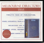 Melbourne Directory 1868 (Sands and McDougall)