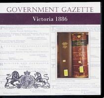 Victorian Government Gazette 1886