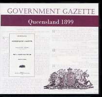 Queensland Government Gazette 1899