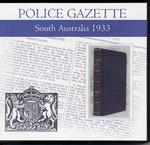 South Australian Police Gazette 1933