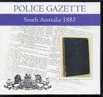South Australian Police Gazette 1883