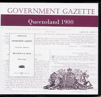 Queensland Government Gazette 1900
