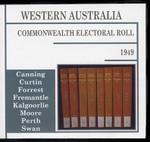 Western Australia Commonwealth Electoral Roll 1949