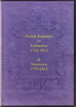Shropshire Parish Registers: Edstaston 1712-1812 and Newtown 1779-1812