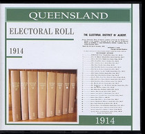 Queensland State Electoral Roll 1914