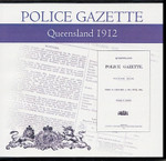 Queensland Police Gazette 1912
