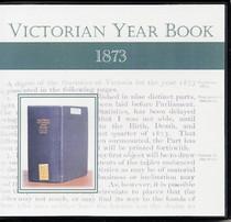 Victorian Year Book 1873