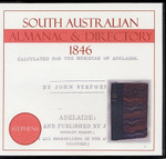 South Australian Almanac and Directory 1846 (Stephens)