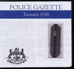 Tasmania Police Gazette 1926