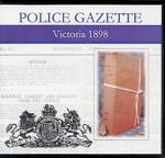 Victoria Police Gazette 1898