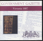 Victorian Government Gazette 1887