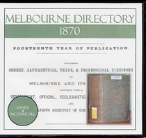 Melbourne Directory 1870 (Sands and McDougall)