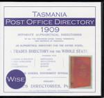 Tasmania Post Office Directory 1909 (Wise)