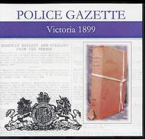Victoria Police Gazette 1899