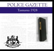 Tasmania Police Gazette 1928