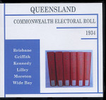 Queensland Commonwealth Electoral Roll 1934