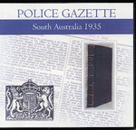 South Australian Police Gazette 1935