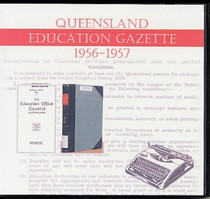 Queensland Education Gazette Compendium 1956-1959