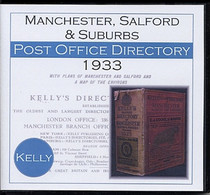 Manchester, Salford and Suburbs 1933 Kelly's (Slater's) Directory