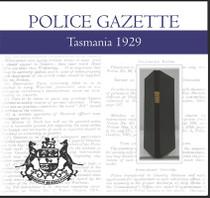 Tasmania Police Gazette 1929