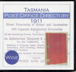 Tasmania Post Office Directory 1911 (Wise)
