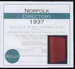 Norfolk 1937 Kelly's Directory