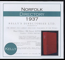 Norfolk 1937 Kelly's Directory