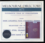 Melbourne Directory 1871 (Sands and McDougall)