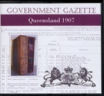 Queensland Government Gazette 1907