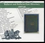 Ballarat and Ballarat East Directory 1865-66