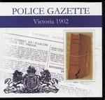 Victoria Police Gazette 1902