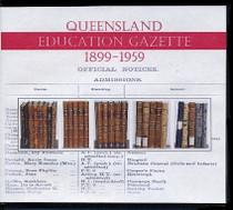 Queensland Education Gazette Set 1899-1959