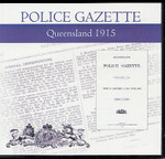 Queensland Police Gazette 1915
