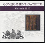 Victorian Government Gazette 1889