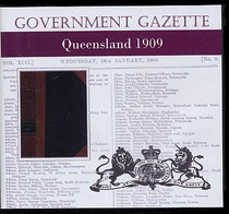 Queensland Government Gazette 1909